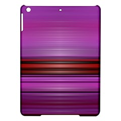 Stripes Line Red Purple Ipad Air Hardshell Cases by Mariart