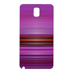 Stripes Line Red Purple Samsung Galaxy Note 3 N9005 Hardshell Back Case by Mariart