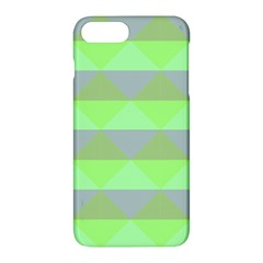 Squares Triangel Green Yellow Blue Apple Iphone 7 Plus Hardshell Case by Mariart