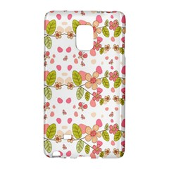 Floral Pattern Galaxy Note Edge by Valentinaart
