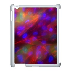 Vaccine Blur Red Apple Ipad 3/4 Case (white) by Mariart