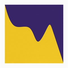 Purple Yellow Wave Medium Glasses Cloth (2 Side)