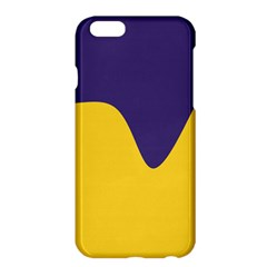 Purple Yellow Wave Apple Iphone 6 Plus/6s Plus Hardshell Case by Mariart