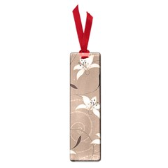 Star Flower Floral Grey Leaf Small Book Marks by Mariart