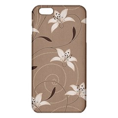 Star Flower Floral Grey Leaf Iphone 6 Plus/6s Plus Tpu Case by Mariart