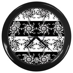 Three Wise Men Gotham Strong Hand Wall Clocks (black) by Mariart