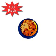 Zodiac Leo 1  Mini Buttons (100 Pack)  by Mariart