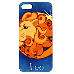Zodiac Leo Apple Iphone 5 Hardshell Case With Stand by Mariart