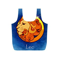 Zodiac Leo Full Print Recycle Bags (s)  by Mariart