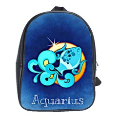 Zodiac Aquarius School Bags(large)