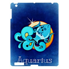 Zodiac Aquarius Apple Ipad 3/4 Hardshell Case by Mariart