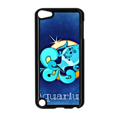 Zodiac Aquarius Apple Ipod Touch 5 Case (black) by Mariart