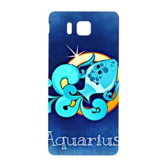 Zodiac Aquarius Samsung Galaxy Alpha Hardshell Back Case by Mariart