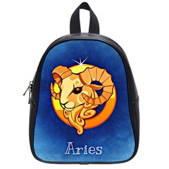 Zodiac Aries School Bags (small)  by Mariart