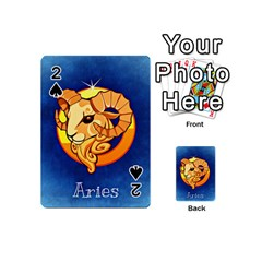 Zodiac Aries Playing Cards 54 (mini)  by Mariart