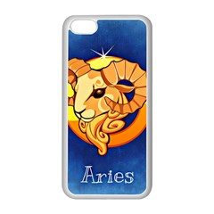 Zodiac Aries Apple Iphone 5c Seamless Case (white) by Mariart