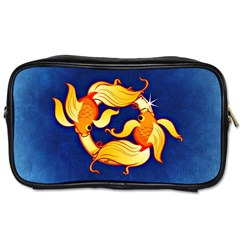 Zodiac Pisces Toiletries Bags by Mariart