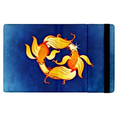 Zodiac Pisces Apple Ipad 2 Flip Case by Mariart