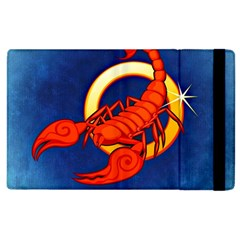Zodiac Scorpio Apple Ipad 3/4 Flip Case by Mariart