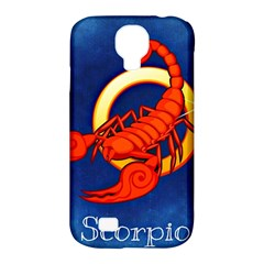 Zodiac Scorpio Samsung Galaxy S4 Classic Hardshell Case (pc+silicone) by Mariart