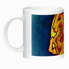 Zodiac Capricorn Night Luminous Mugs by Mariart