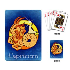 Zodiac Capricorn Playing Card by Mariart