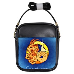 Zodiac Capricorn Girls Sling Bags by Mariart