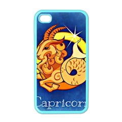 Zodiac Capricorn Apple Iphone 4 Case (color) by Mariart