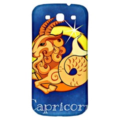 Zodiac Capricorn Samsung Galaxy S3 S Iii Classic Hardshell Back Case by Mariart