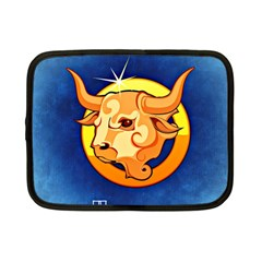 Zodiac Taurus Netbook Case (small)  by Mariart