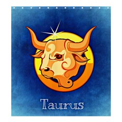 Zodiac Taurus Shower Curtain 66  X 72  (large)  by Mariart