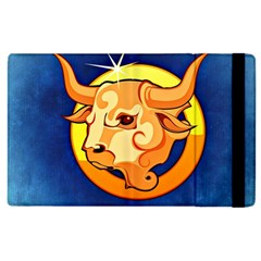 Zodiac Taurus Apple Ipad 3/4 Flip Case by Mariart
