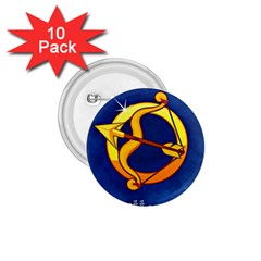 Zodiac Sagittarius 1 75  Buttons (10 Pack) by Mariart