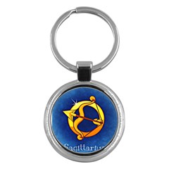 Zodiac Sagittarius Key Chains (round)  by Mariart