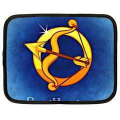 Zodiac Sagittarius Netbook Case (xl)  by Mariart