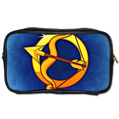 Zodiac Sagittarius Toiletries Bags 2 Side by Mariart
