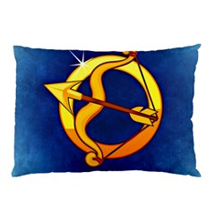 Zodiac Sagittarius Pillow Case (two Sides) by Mariart
