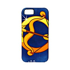 Zodiac Sagittarius Apple Iphone 5 Classic Hardshell Case (pc+silicone) by Mariart
