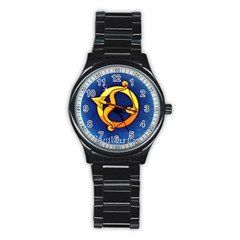 Zodiac Sagittarius Stainless Steel Round Watch by Mariart