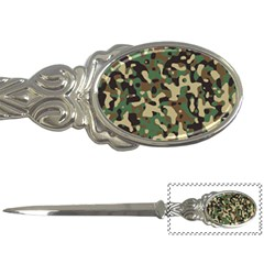 Army Camouflage Letter Openers by Mariart