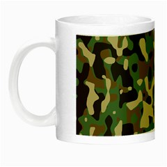 Army Camouflage Night Luminous Mugs by Mariart