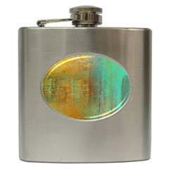 The Waterfall Hip Flask (6 Oz) by digitaldivadesigns