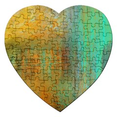 The Waterfall Jigsaw Puzzle (heart) by digitaldivadesigns