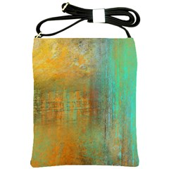 The Waterfall Shoulder Sling Bags by digitaldivadesigns