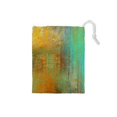 The Waterfall Drawstring Pouches (small)  by digitaldivadesigns