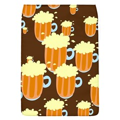 A Fun Cartoon Frothy Beer Tiling Pattern Flap Covers (s)  by Nexatart