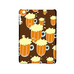 A Fun Cartoon Frothy Beer Tiling Pattern Ipad Mini 2 Hardshell Cases by Nexatart