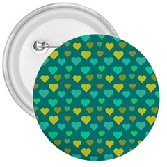 Hearts Seamless Pattern Background 3  Buttons