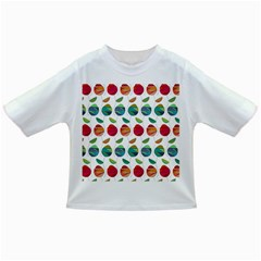 Watercolor Floral Roses Pattern Infant/Toddler T-Shirts