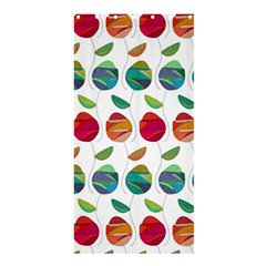 Watercolor Floral Roses Pattern Shower Curtain 36  x 72  (Stall)